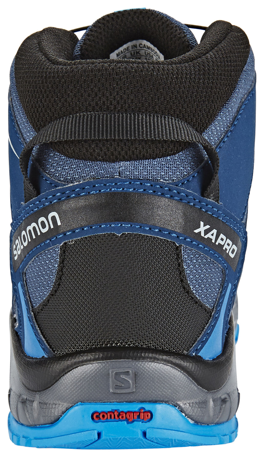 Salomon XA Pro 3D Mid CSWP Shoes Kinder slateblueblue depthbright blue